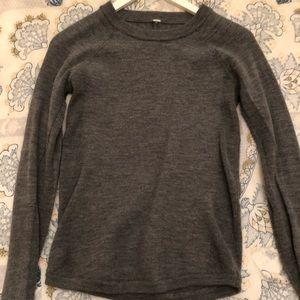 Women's Lululemon Sweater Gray Size 4